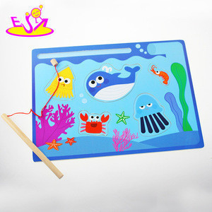 Interesting toy fish toy for kid Hot sale magnetic fishing toy set wholesale W01A067