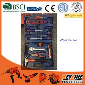KEYFINE TOOLS 22PCS Repair Used hand tool set