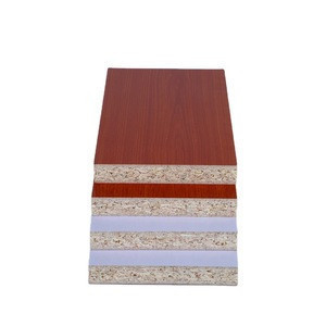 Melamine paper particle board /plywood /mdf white kitchen cabinet particle board