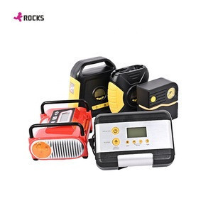 Multi-function combined 12v air pump, Air Compressor Tire Inflator Supplier