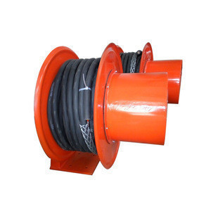 New design light weight steel cable reel retractable for gantry crane