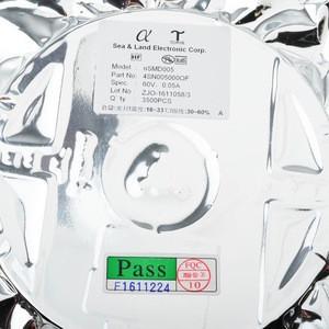 NEW ORIGINAL 60V SMD nSMD005 1206 0.05A 50MA pptc resettable fuse