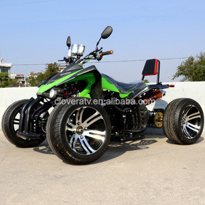 Petrol Powerful Road Legal Kawasaki Racing Quad 350CC ATV with EEC COC