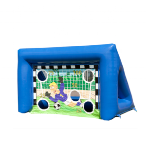 Portable inflatable soccer shoot out/inflatable soccer goal/inflatable soccer target for sport games
