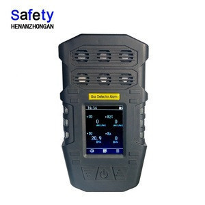 Portable multi 6 in 1 exhaust gas analyzer with high sensitivity sensor for sale