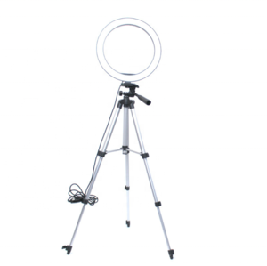 Portable Selfie Beauty Rng Light with Tripod Stand Led Circle Studio Makeup Ring Light