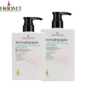 Pure Natural organic Rose Oil Body Wash Hotel Shower Gel 200ml