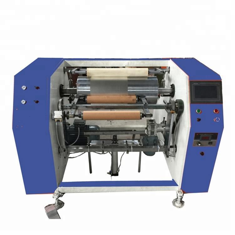 Semi-auto kitchen aluminum foil rewinding machine&automatic rewinding machine