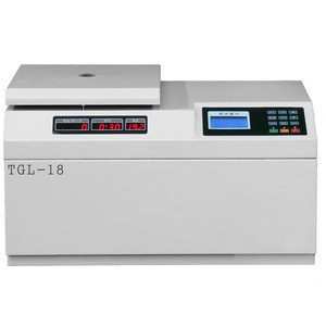 TGL tabletop high speed laboratory refrigerated centrifuge machine  has CE