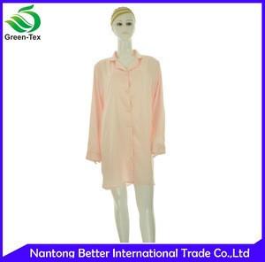 Wholesale New Design Comfortable Satin Nightshirts