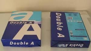 Double A. A4 Copy Paper 80gsm at Rs 55 /ream | A4 Xerox ...