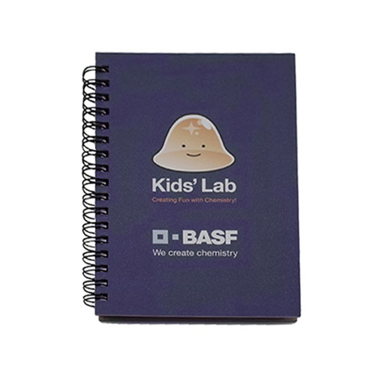 Wholesale eco friendly Portable custom spiral mini cute kids notebook