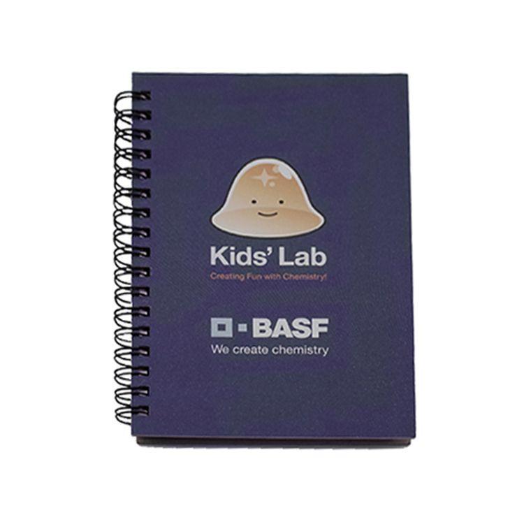 Wholesale eco friendly Portable custom spiral mini cute kids notebook