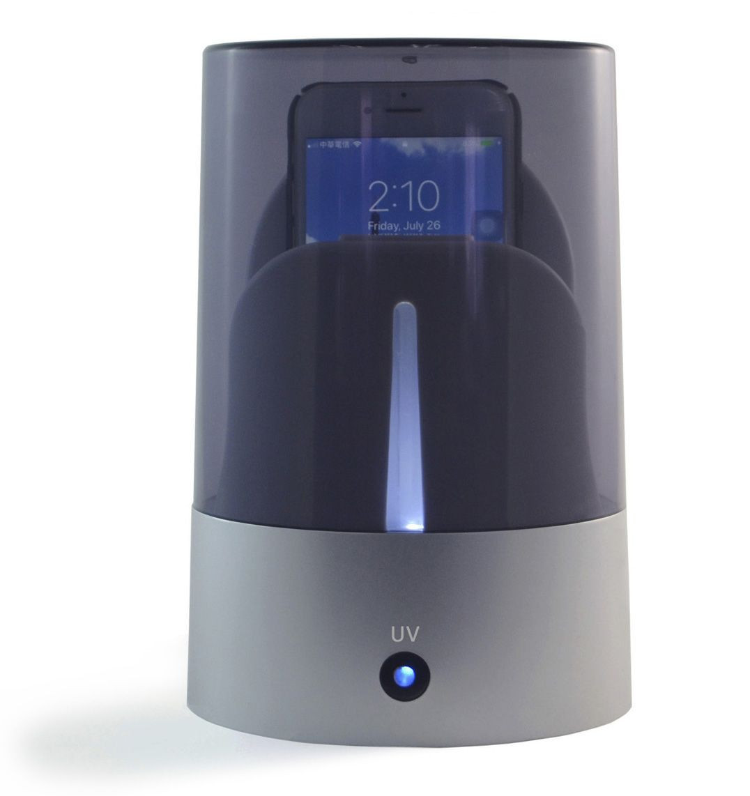 UV Spa Cell Phone Sterilizer with Wireless Charger UV-W1586