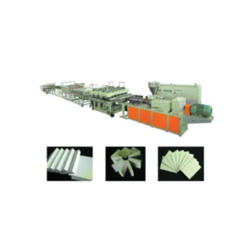 WPC / PVC Skinning Foamed Board Extrusion Line