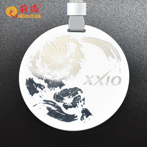 20 Years Free Sample High Quality Promotional Acrylic Golf Bag Tags