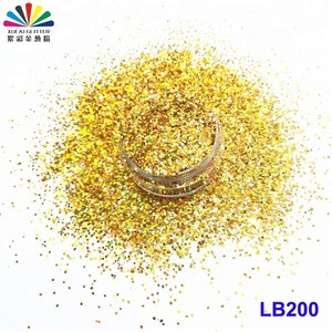 2018 wholesale Bulk Non-toxic glitter powder for kids glass marble