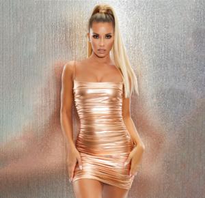 2020 Womens Bodycon dress Metallic Party Club Dress bodycon dress