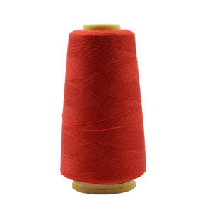 402 Colorful sewing threads  Factory direct sale 100% polyester   3000Y/cone for home textile, clothing accessories