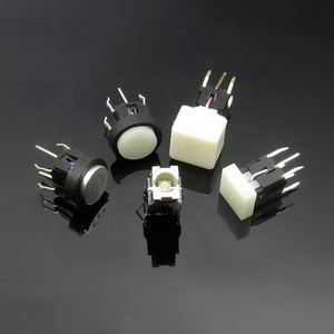 6mm momentary dip 6x6 illuminated tact switch with led