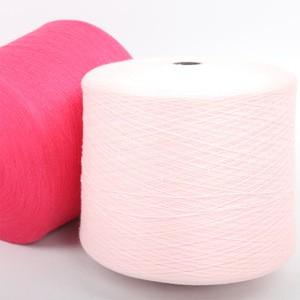 Anti-pilling 48S/2 Core Spun Yarn 29.8% polyester 20.2% Nylon 23.2% Viscose 26.8% Acrylic blended yarn fabric