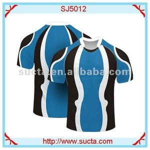 Breathable fabric rugby uniforms SJ5012