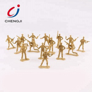 Cheap custom plastic boys military play toy set action figure