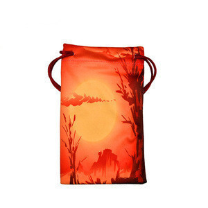 China unique tailor made logo photo printed bag for mobile