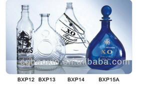Chinese empty wine/liquor/spirit glass bottle manufacturers (glass factory)