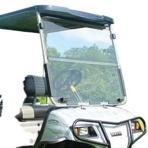 Clear G22 / GMAX Golf Cart Fold Down Windshield 2003-2007
