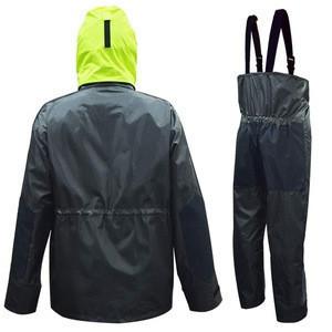 Custom High quality new design Fishing wear,fishing jersey, Fishing Rain Suit Foul Weather Gear Sailing Jacket with Bib Pants