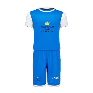 Custom youth football sport wear t-shirt and pants set jersey men clothing sports clothing men soccer  jersey