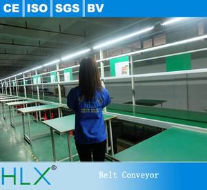 Factory Direct Belt Conveyor Assembly Line Working Tables PVC Conveyor Belting