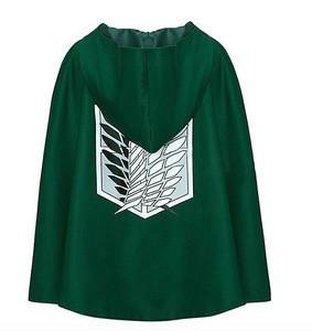 Fashion Anime no Kyojin Cloak Cape Clothes Cosplay Costume Fantasia Attack on Titan Plus Free shipping