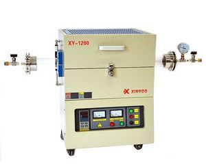 High Temperature Horizontal Electric Tube Furnace, Lab Heating Equipment, Vacuum Melting Furnace
