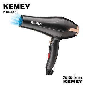 Hot Selling KM-5820 Kemei Salon Concentrator Diffuser Ionic Induction Function Professional Hair Dryer