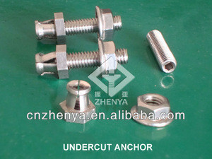 INOX AISI304/A2 undercut anchor