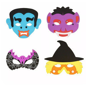 Mask Birthday Party Supplies EVA Foam Animal Masks Cartoon Party Dress Up Costume Zoo Jungle Mask Party Decoration FOR kid