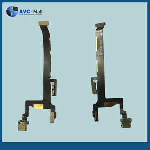Mobile phone accessories wholesale 100% Original dock connector charging flex cable for one plus two