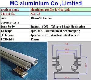 Outdoor led aluminum profile/led linear housing/aluminium led profile outdoor lighting