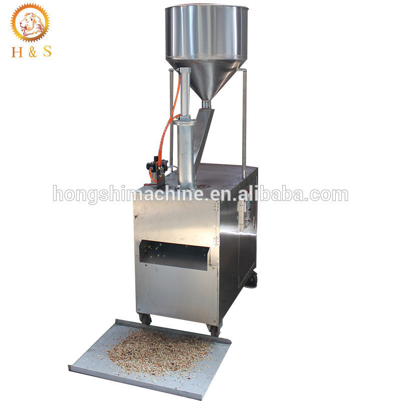 Peanut almond slice cutting machine