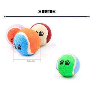 Pet Tennis Balls for Dogs Pet Toys for Exercise and Training