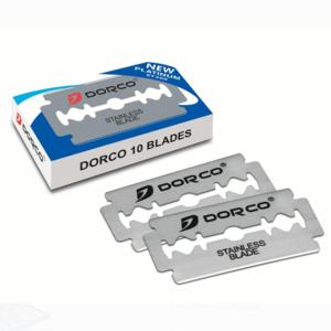 Platinum Coated Stainless Steel Double Edge  Shaving Razor Blades
