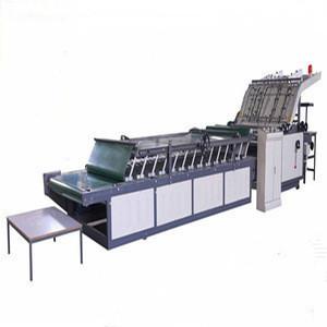 Semi-auto Corrugated Cardboard pasting Machine/ Manual Amphibious Laminator Machine/corrugated Carton box