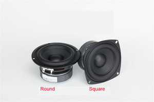 Top end 4 inch supper strong Bass driver woofer subwoofer transducer speaker repair replacement parts raw bass speaker  driver