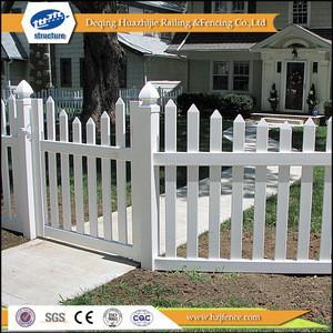 Vinyl pvc picket fence gates designs