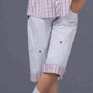 Wholesale ready to ship summer casual cotton trousers boys shorts