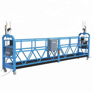 Winch electrical suspended scaffolds high reach platform