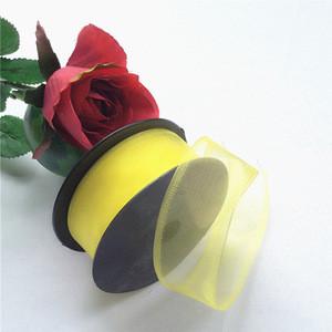Wire Edge Party Favor Organza Ribbon