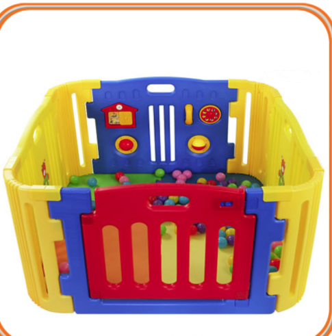 Foldable Plastic Baby Playpen